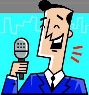 中国語スピーチコンテスト(マイク)