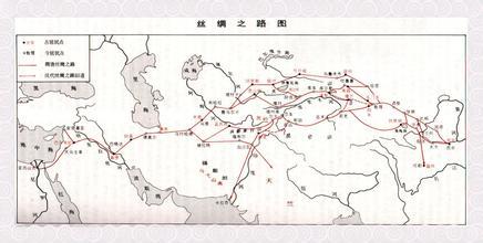 丝绸之路旅游路口