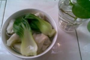 猪肉香菇青菜馄饨